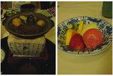 陶板焼き&デザート