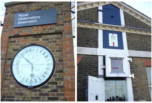 グリニッジ時計&子午線の窓