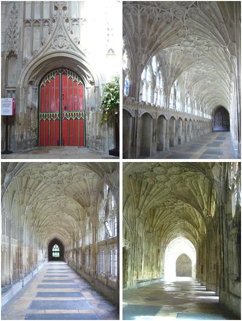 グロースター大聖堂の回廊