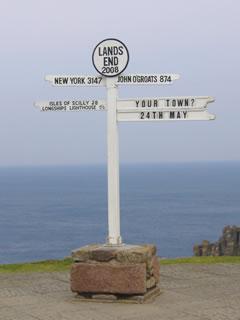 ランズ・エンドの標識