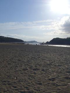 Porthの海岸