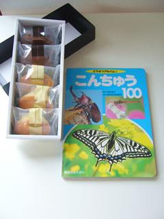 お菓子&昆虫の本