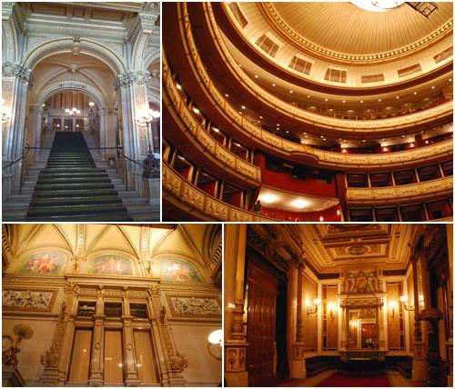 オペラ座入口&サロン