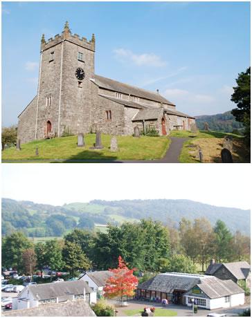 教会&教会からの眺め