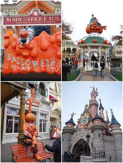 ハロウィンの飾り&お城