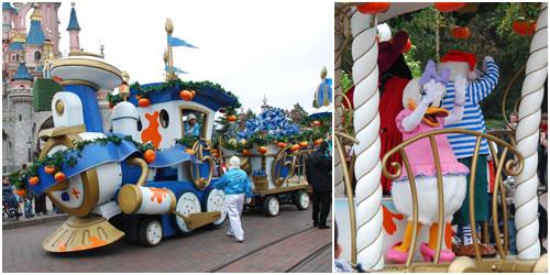 汽車のパレード