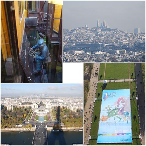 エッフェル塔からの眺め1
