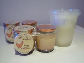 プリン&モッツァレラチーズ