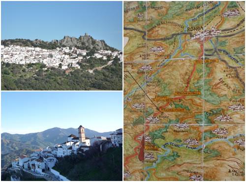 白い村&地図