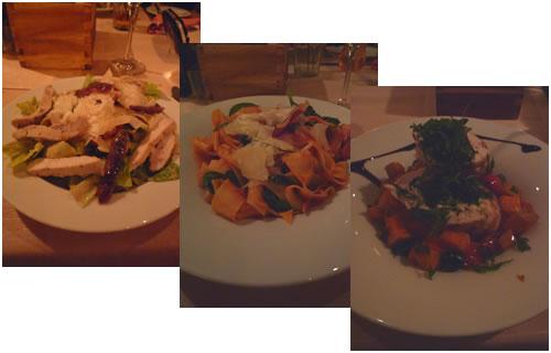 サラダ&パスタ&チキン