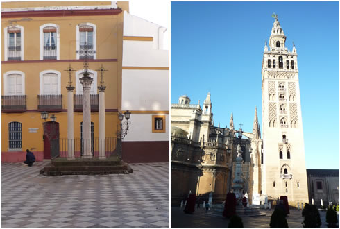 十字架の広場&ヒラルダの塔