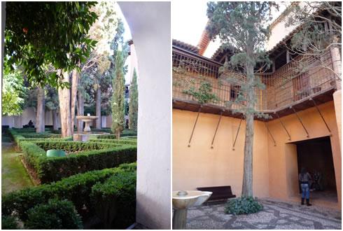 リンダハラの中庭&鉄格子の中庭