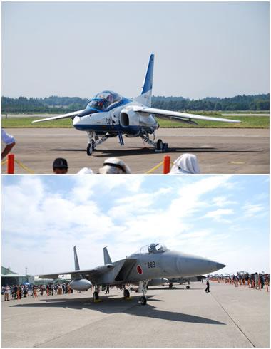 ブルーインパルス&F-15