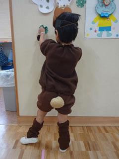 クマさんの衣装