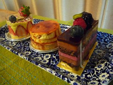 レピキュリアンのケーキ