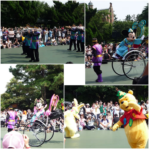 七夕のパレード
