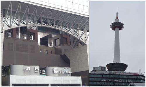 京都駅&京都タワー