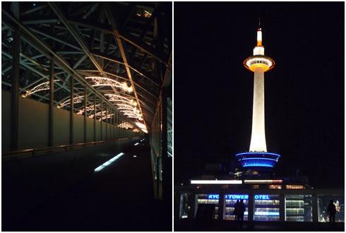空中径路&京都タワー