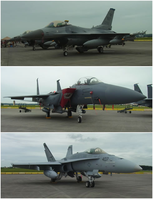 F-16&F-15&F-18
