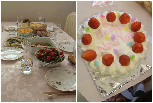 お料理&ケーキ