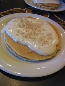 マカダミアナッツソースパンケーキ