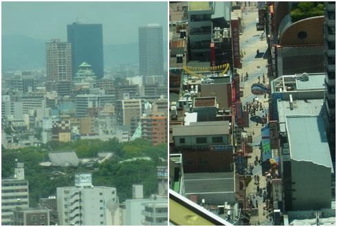 大阪城&商店街