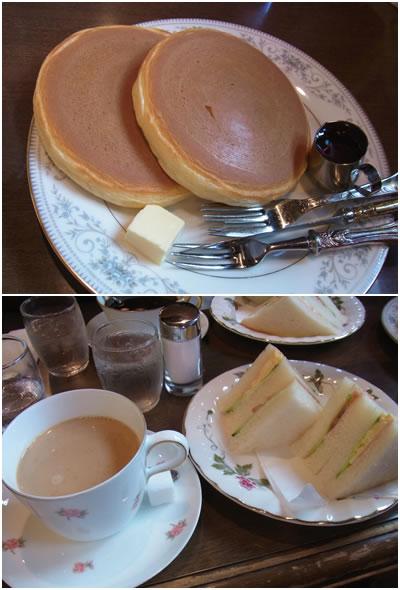 ホットケーキ&Bセット