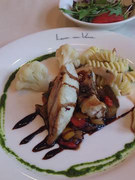 かじきのソテーと南仏野菜のラタトゥイユ