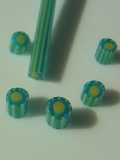 菊模様の棒