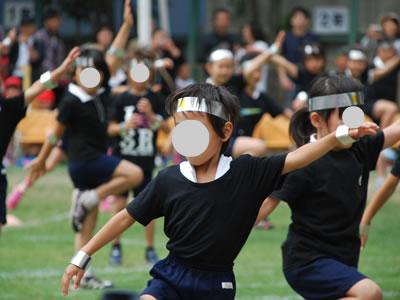 忍者の踊り