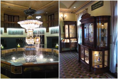 オーロラの泉&チョコレートカップの部屋