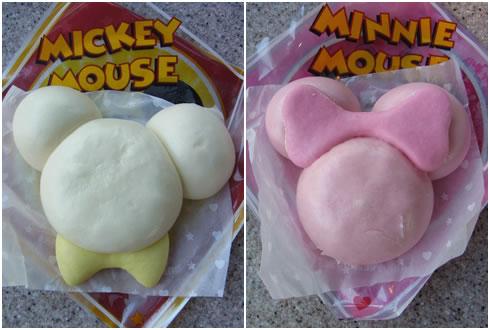 ミッキーマウスまん&ミニーマウスまん