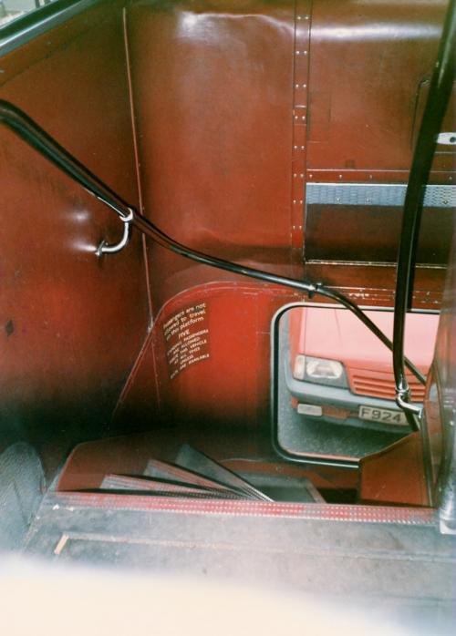 バスのタラップ