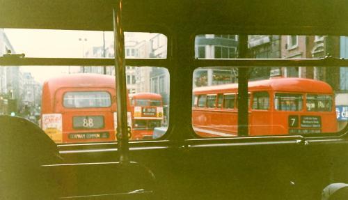 バスの2階