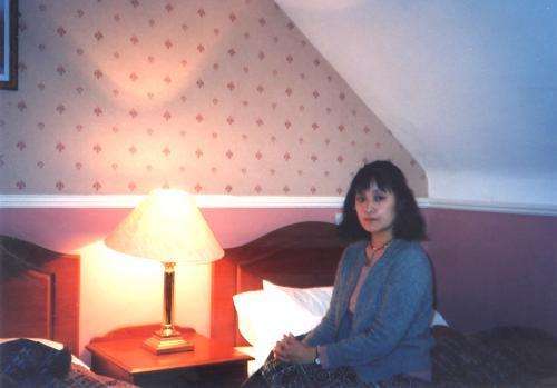 ダブリンホテルの部屋