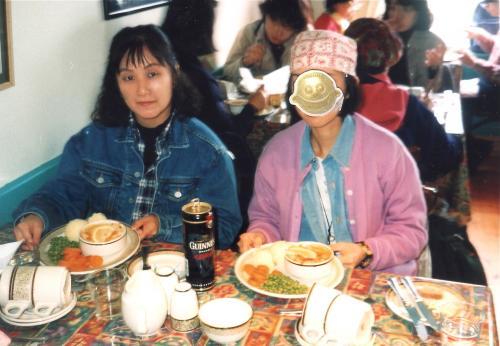 アラン島昼食