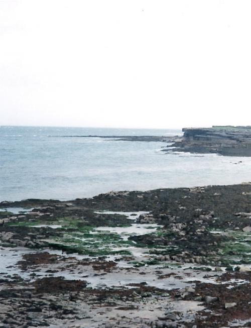 アイルランドの海