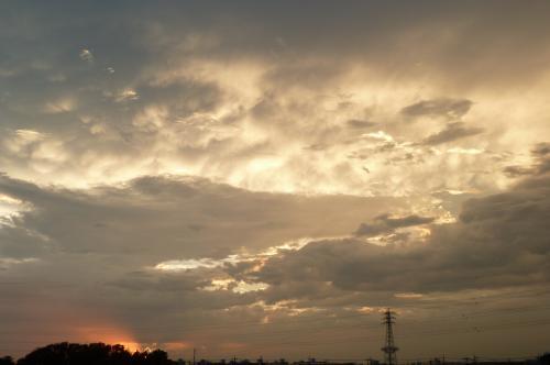 7:17の雲