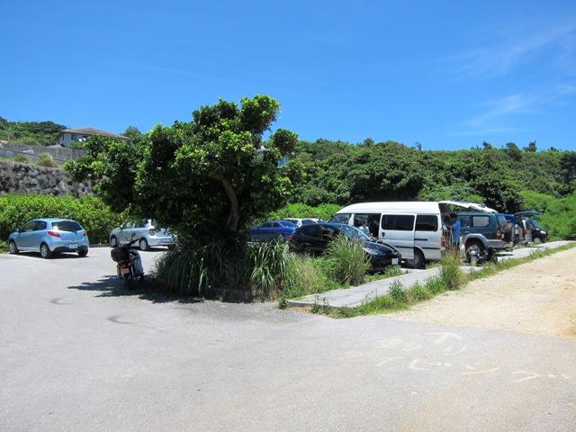 大度海岸 駐車場