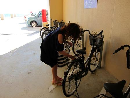 ベッセルホテルカンパーナ沖縄 自転車