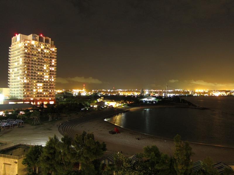 ベッセルホテルカンパーナ沖縄 夜景