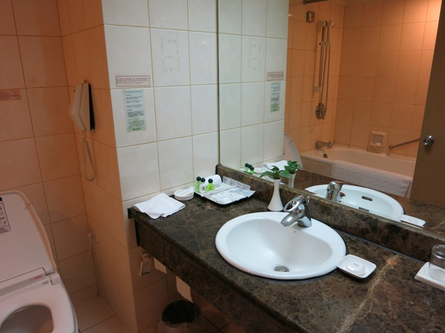 三徳大飯店 洗面