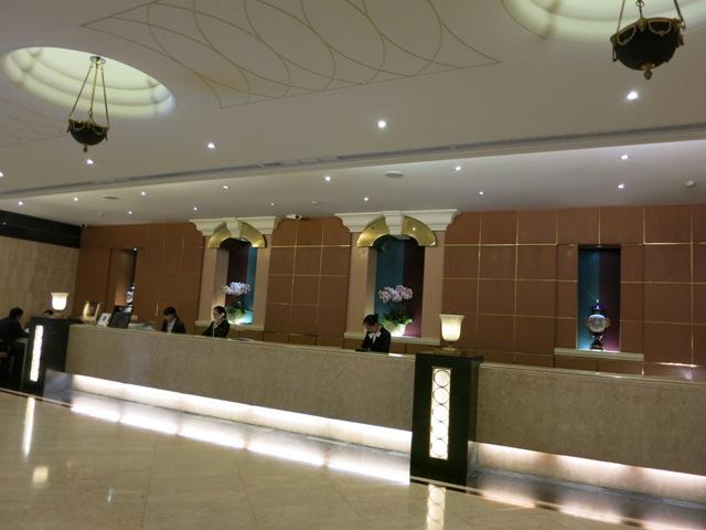 三徳大飯店 フロント