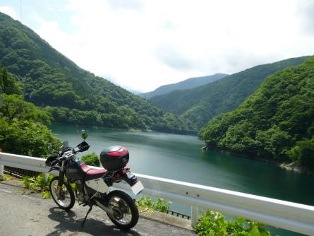P1020528秩父湖