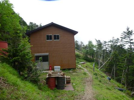 P1020771キレット小屋