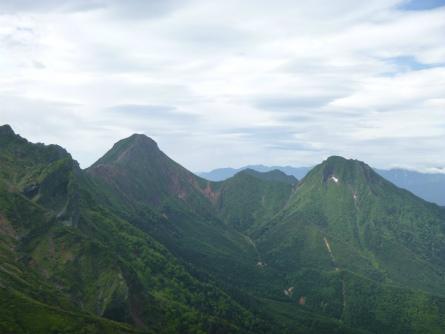P1020852赤岳~中岳~阿弥陀岳
