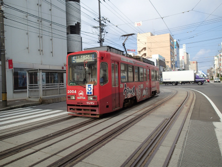 函館市電3