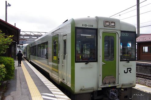 小淵沢にて 小海線