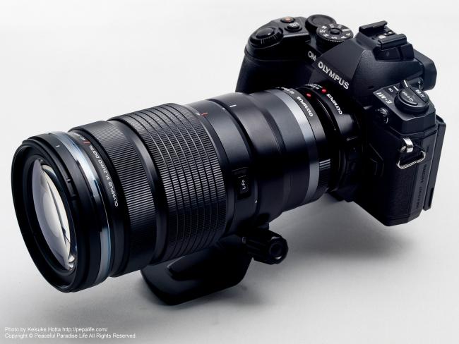 OM-D E-M1 + M.Z.D. ED 40-150mm F2.8 PRO + MC-14