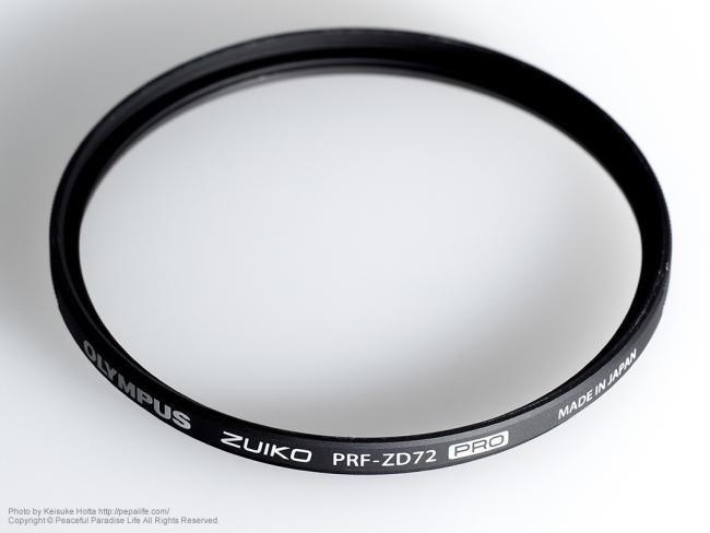 プロテクトフィルター ZUIKO PRF-ZD72 PRO